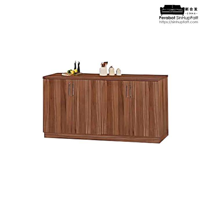 Melamine Kitchen Cabinet Wall Unit And Base Unit Kedai Perabot
