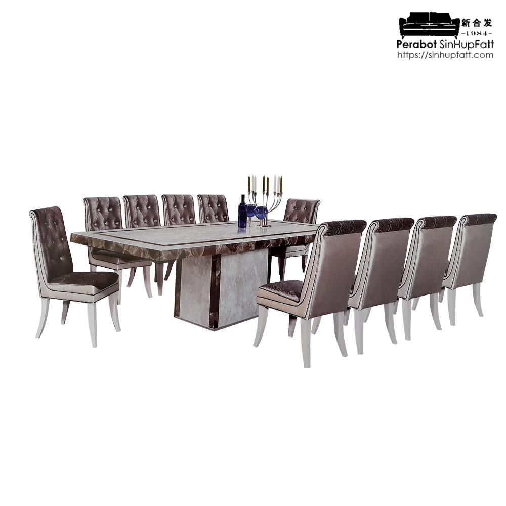 Marble Dining Set 10 Seater