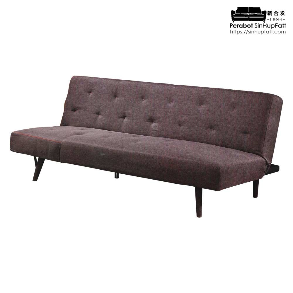 Brown Color Sofa Bed With Fabric Material