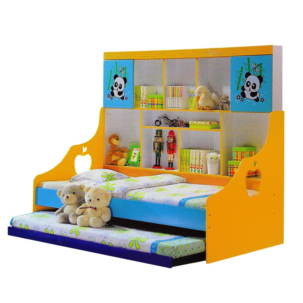 Mdf Kids Children Pull Out Bed With